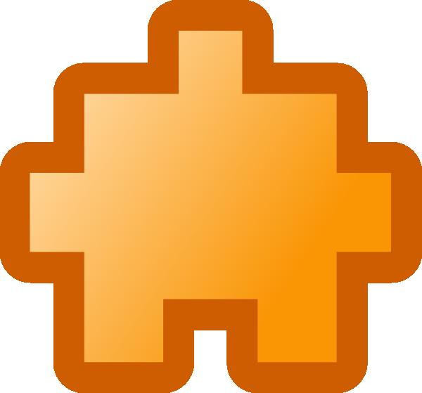 free vector Jean Victor Balin Icon Puzzle Yellow clip art
