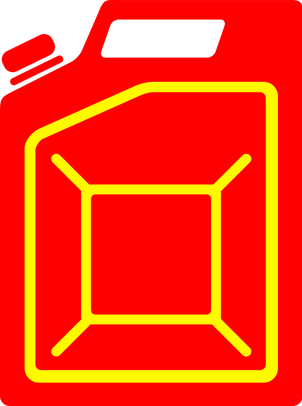 free vector Jerrycan