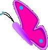 free vector Jesseakc Butterfly clip art