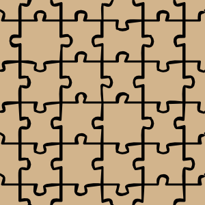 free vector Jigsaw 2 Pattern clip art
