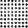 free vector Jigsaw Pieces clip art