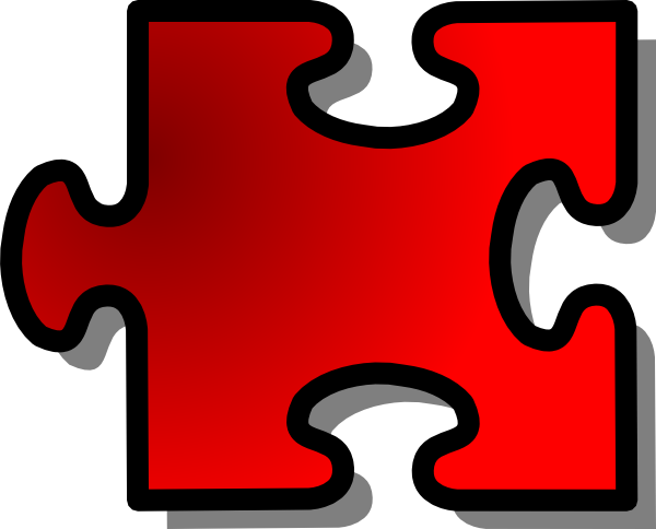 Free Vector Jigsaw Puzzle Piece Clip Art