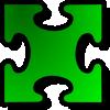 free vector Jigsaw Red 10 clip art