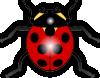 free vector Jilagan Ladybug clip art