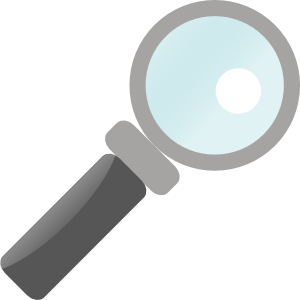 jilagan magnifying glass clip art free vector 4vector rh 4vector com magnifying glass vector free download magnifying glass vector art