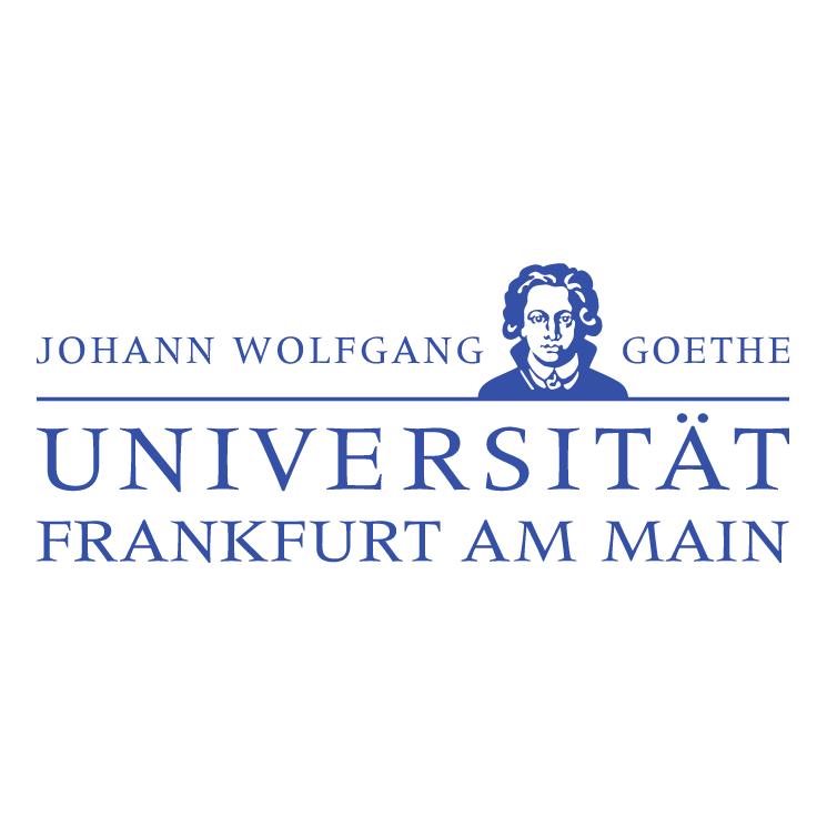 free vector Johann wolfgang goethe universitat