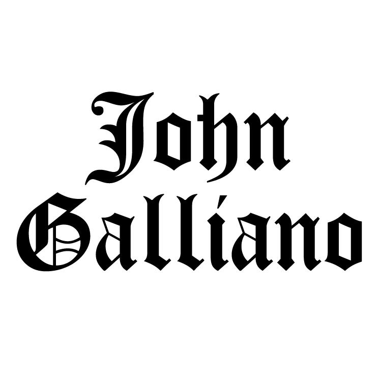 free vector John galliano