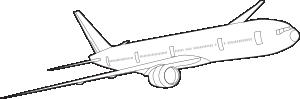 free vector Johntg Boeing clip art