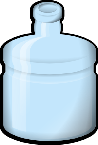free vector Jonata Water Bottle clip art