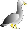 free vector Jonathon's Duck clip art