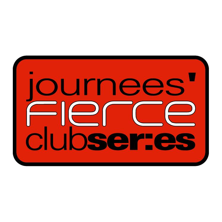 free vector Journees fierce club series