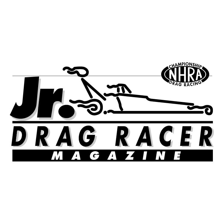 free vector Jr drag racer