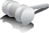 free vector Judge Hammer clip art