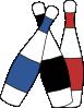 free vector Juggling Pins clip art