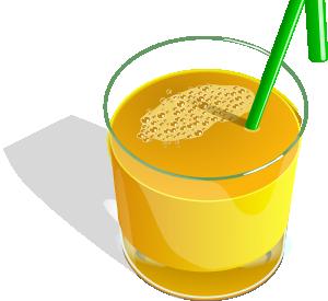 free vector Juice Glass clip art