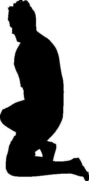 free vector Jumping Bowing Kneeling clip art