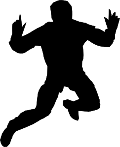 free vector Jumping High clip art