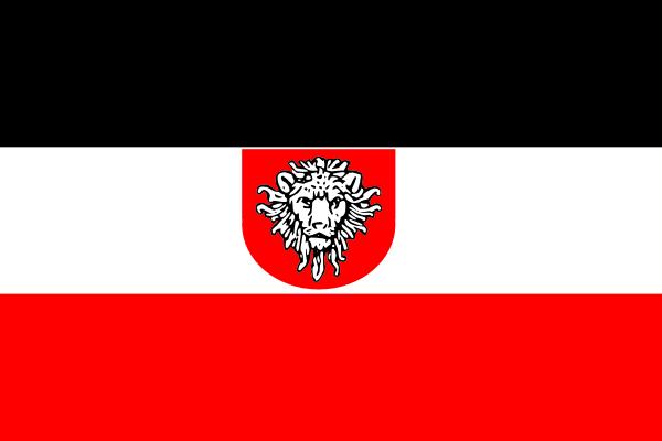free vector Jzedlitz Flag Deutsch Ostafrika clip art