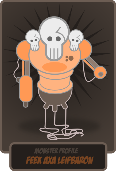 free vector Kablam Monster clip art