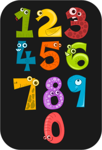 free vector Kablam Number Animals clip art