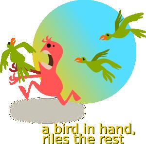 free vector Kablam One In Hand clip art