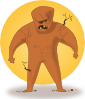 free vector Kablam Super Hero Earth clip art