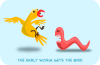 free vector Kablam The Early Worm clip art