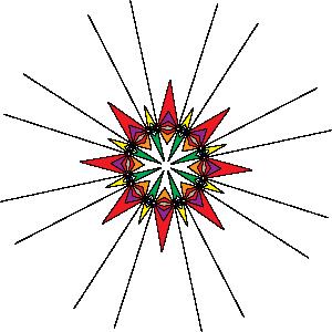 free vector Kaleidoscope clip art 103284