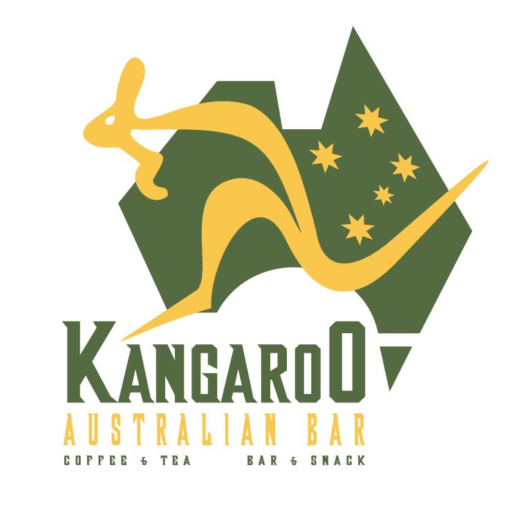 free vector Kangaroo australian bar