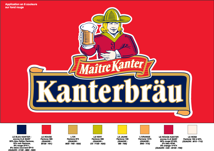 free vector Kanterbrau logo