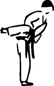 free vector Karate clip art