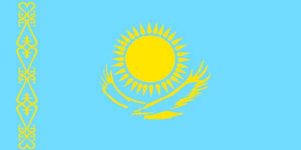free vector Kazakhstan clip art