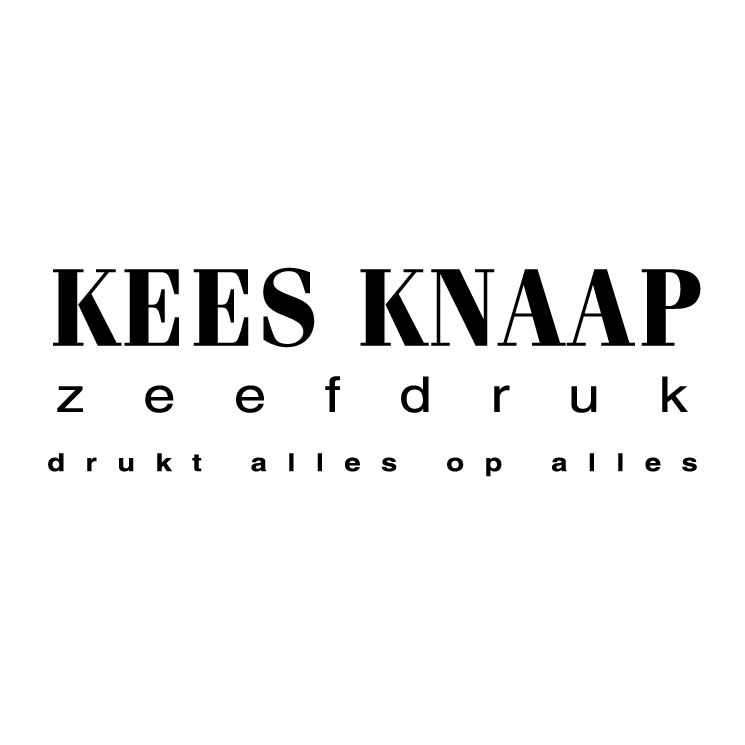 free vector Kees knaap zeefdruk