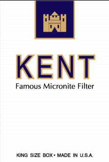 free vector Kent cigarettes pack