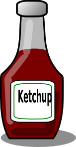 free vector Ketchup Bottle clip art