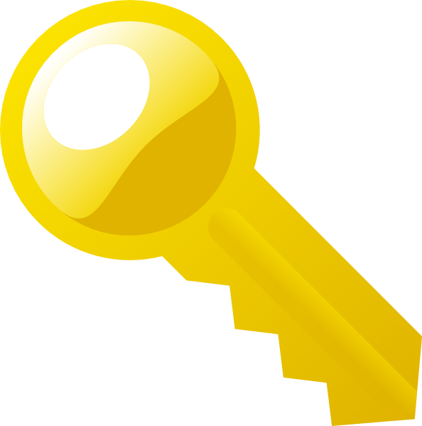 Key clip art Free Vector / 4Vector