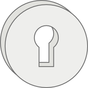 free vector Key Lock Hole clip art