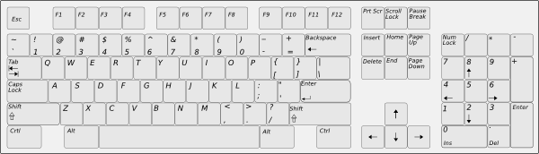 free vector Keyboard clip art
