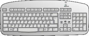 Clip Art Keyboard Clip Art keyboard clip art free vector 4vector art