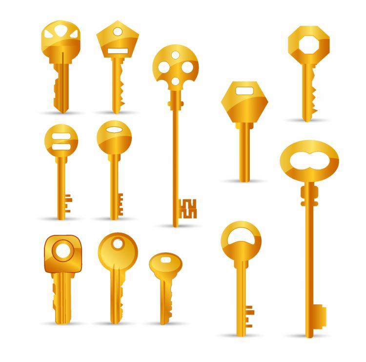 free vector Keys