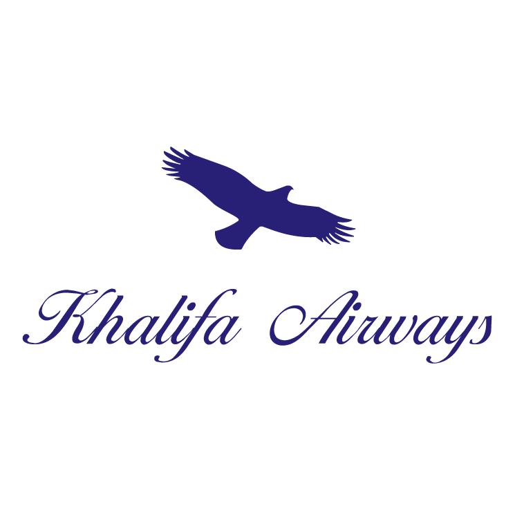 free vector Khalifa airways