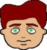 free vector Kid Face clip art 125595