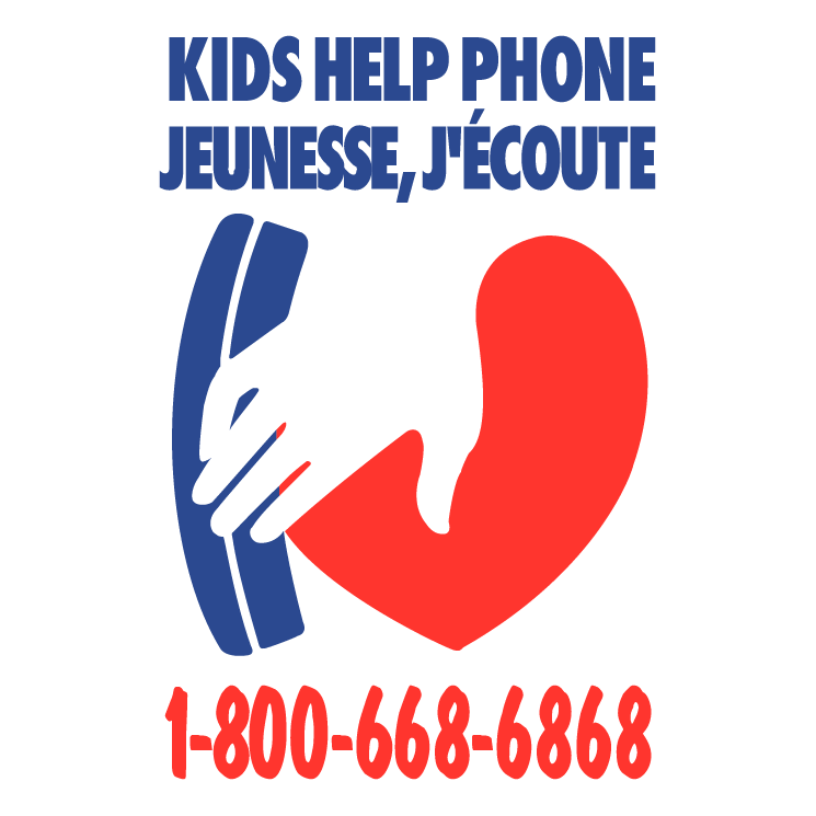 free vector Kids help phone