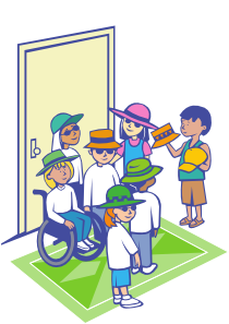 free vector Kids With Hats clip art
