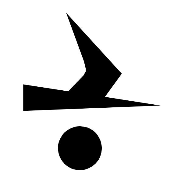 free vector Kielzugvogel Black clip art