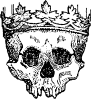 free vector King Of The Dead clip art