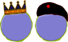 free vector King Soldier Status Rank clip art