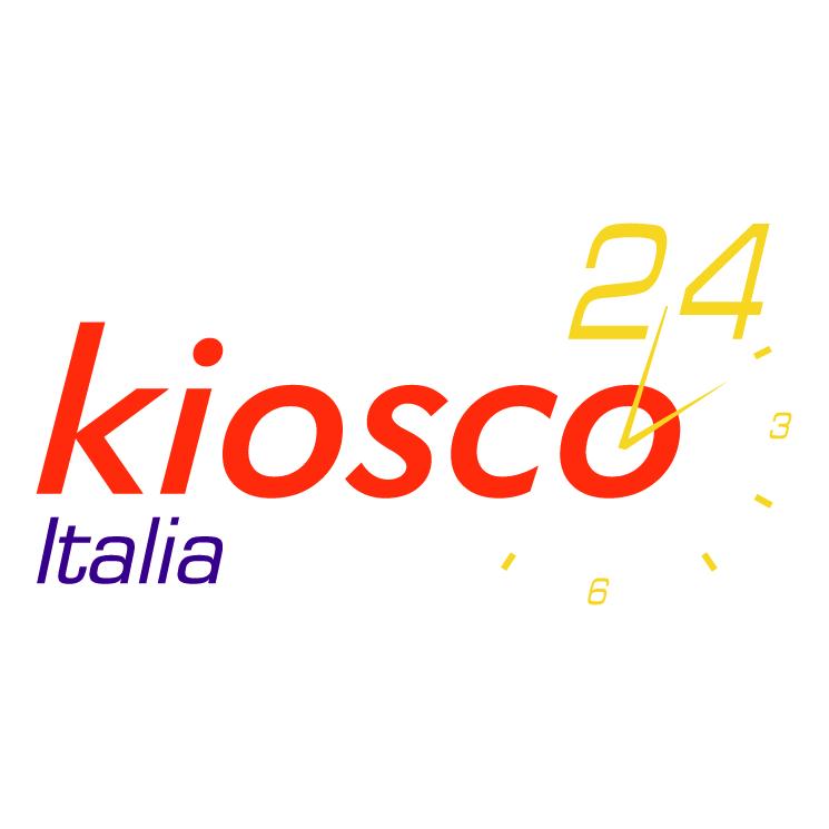 free vector Kiosco 24 italia
