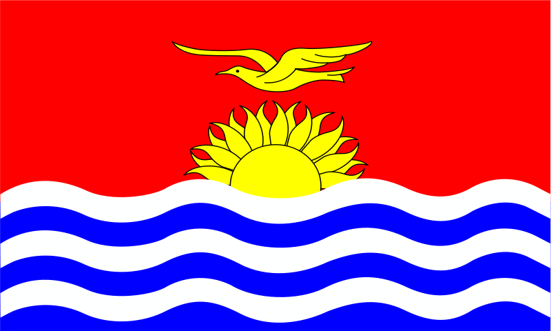 free vector Kiribati flag patricia  08r