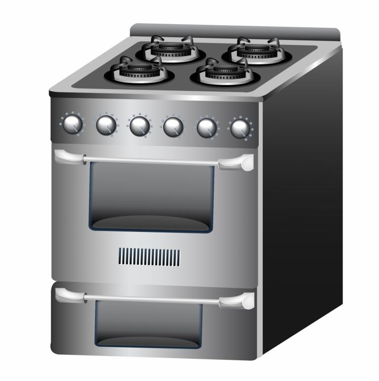 free vector Kitchen oven